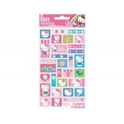 Наклейка Hello Kitty Цветы 60шт А фото