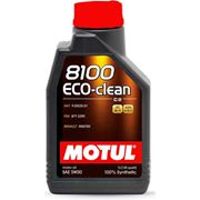 Моторное масло MOTUL 8100 Eco-clean 5W-30 фото