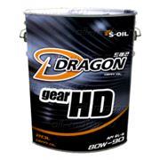 Трансм. масло DRAGON GEAR HD 80W90 GL-5 20л фото