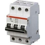 Автомат ABB 3 полюсной 4,5кА 6 ампер фото