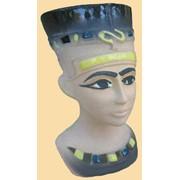 Аромалампа керамическая Нефертити фото