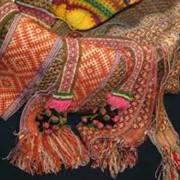 Набивка на текстильных изделиях фото