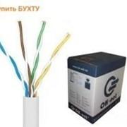 Кабель витая пара +для интернета КПВ-ВП (350) 4х2х0,50 (UTP-cat,5E) Бухта 305м фото