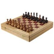 Шахматы ларец Woodgame береза 4.5 фото