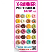 Полотно к X-Banner Professional 80x180 см фото