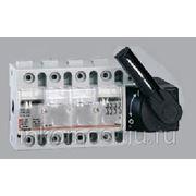 Выключатель-разъединитель Vistop 3 полюса 32А рукоятка спереди, черная   арт. 22500   Legrand фото
