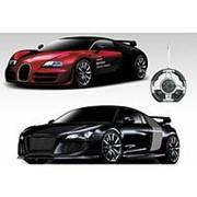 Конструктор - автомобили Bugatti Veyron и Audi R8 на р/у - 2028-2F02B фото