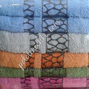 Махровое лицевое полотенце Камешки фото