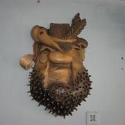 """Маска """"Небритый пират"""" фото"""