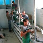 Монтаж оборудования и технологическое сопровождение работ по строительству или реконструкции молочных ферм. фото
