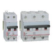 Автоматический выключатель DX 3 полюса характеристика D 2A 15kA | арт. 6646 | Legrand фото