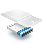 Усиленный аккумулятор (АКБ, батарея) для телефона SAMSUNG Craftmann EB595675LU white фото