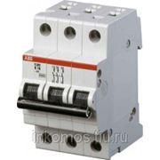 Автоматический выключатель 3-полюсной S203 K 0.5A | STOS203K0.5 | ABB фото