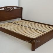 Кровати двуспальные деревянные под заказ Украина фото