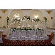 Услуги оформления свадеб,декорирование зала. фото