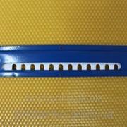 Леток для ульев 2-х элементный нижний из эмалированой стали, длина 250 мм фото
