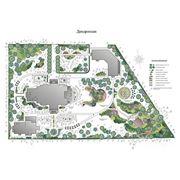 Дизайн-проект озеленения и благоустройства участка до 10 соток фото