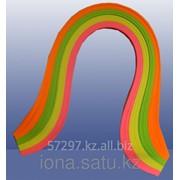 Бумага 80гр., 200 полос , 4 цвета Неоновый микс фото