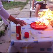 Профессиональное химическое шоу на детский праздник фото