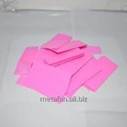 Конфетти-метафан розовый фото