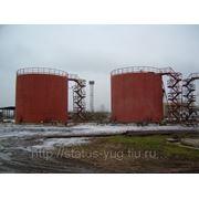 Вертикальные стальные цилиндрические резервуары фото