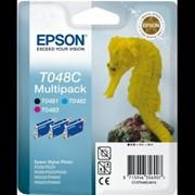 Картридж epson R300 [T048] Multi Pack (C, M, BK) фото
