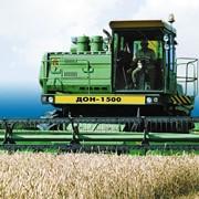 Уборка зерновых комбайнами Дон-1500Б фото