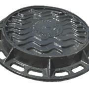 Люк чугунный тип Т, Люки чугунные, канализационный, водопроводный, теплофикационный фото