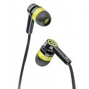 Наушники вкладыши с микрофоном Defender Pulse 420 мобильная гарнитура для смартфонов, жёлтые фото