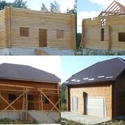 Строительство деревянных срубов фото