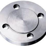 Заглушка фланцевая Ду 900 Ру 40 стальная АТК 24.200 02 фото