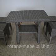 Мебельный комплект Виктория(ротанг) для летних площадок фото