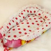 Гнездышко-кокон для малыша фото