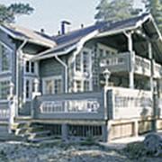 Дом из клеенного бруса 06-626 фото