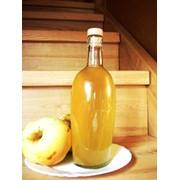 Натуральный домашний яблочный уксус 1л. фото