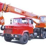 Автокран КС-3575 КрАЗ в/п 14т. фото
