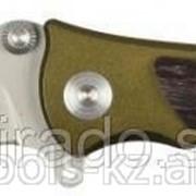 Нож Зубр Премиум Следопыт складной универсальный, металлическая рукоятка с деревянными Код:47713 фото