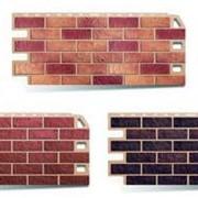 Сайдинг коллекция Кирпич. Структура фасадных панелей полностью копирует натуральный кирпич, а различная цветовая гамма придаст изюминку в отделке фасада здания. фото