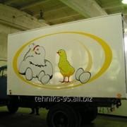 Фургоны для перевозки инкубационных яиц и цыплят. фото