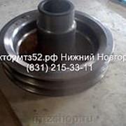 Шкив коленвала ПАЗ ГАЗ 2-х руч. голый Е-2 245-1005131-Д фото