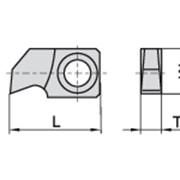 Ножи пазовые 24,5×13×4,0 Ceratizit 11921646 фото