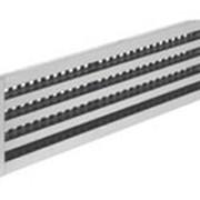 Решетки щелевые без регулятора, с направляющими жалюзи РЩБ-3 ж 127х600 фото