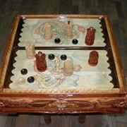 Нарды подарочные деревянные фото
