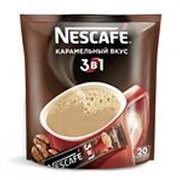 Кофе порционный NESCAFE 3в1 Карамель, 20х20 г фото