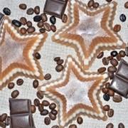 """Мыло натуральное ручной работы """"Шоколадные звёзды"""" фото"""