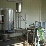 Линия производства травяных экстрактов фото