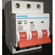 Выключатель автоматический модульный HIBD63-N 3PMBS0000C 00040 , 3Р, «B», 40A, 6кА фото