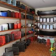 Полипропиленовые ящики для хранения и перевозки фруктов фото