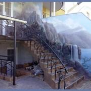 Роспись стен в Бресте фото