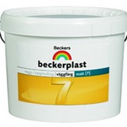 Beckers Beckerplast 7, краска для стен и потолков матовая (База А), 0,9 л. фото